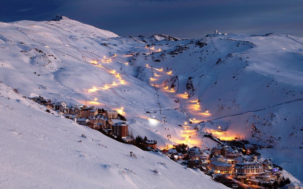 Destinos Ski mundial: Sierra Nevada