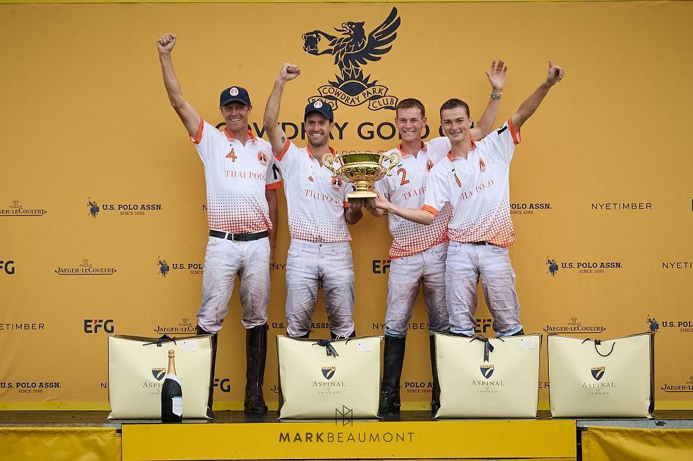 Con Nicolás Pieres, Thai Polo NP ganó la Gold Cup for the British Open