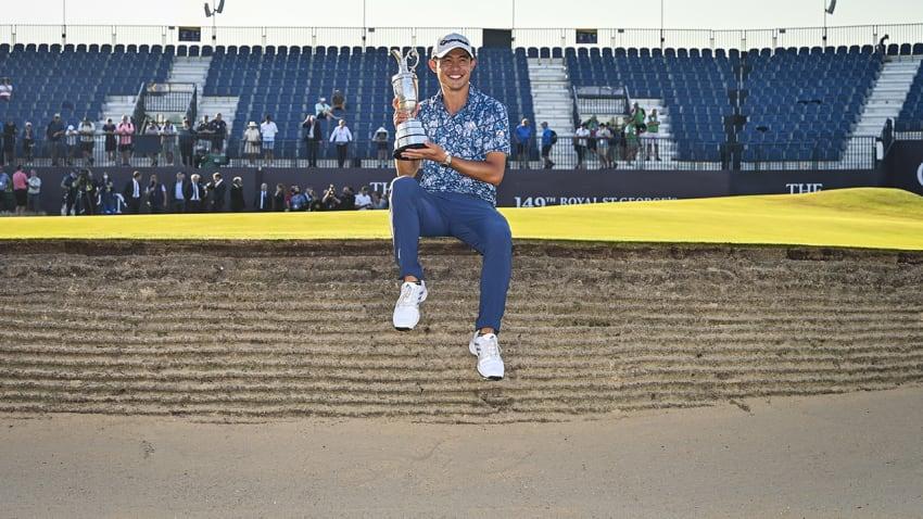 Collin Morikawa hizo historia en el Abierto Británico de golf