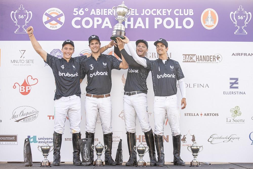 La Ensenada, campeón del Abierto del Jockey Club